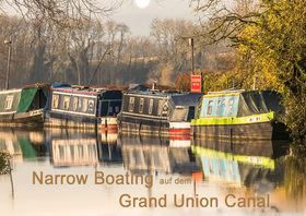 Narrow Boating auf dem Grand Union Canal
